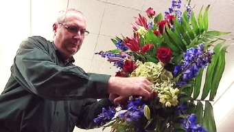 Newtown Florists Craft Bouquets Through Tears