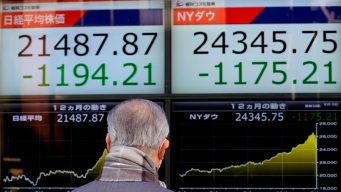 Asian Shares Tumble After Dow Has Worst Day Since 2011