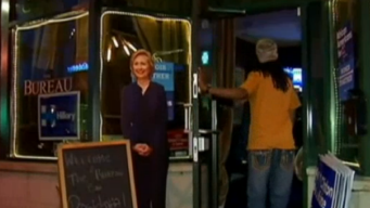 Clinton Supporters Sound Off in South Loop Bar Watch Party