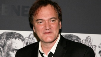 """Quentin Tarantino Gets Choked Up for """"Django Unchained"""""""