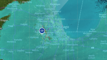 Snow Totals Across the Chicago Area Monday