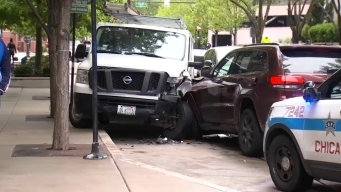 Carjacked Jeep Crashes in River North: Police