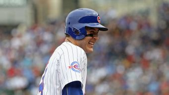 Rizzo Celebrates Arrieta's History-Making Homer With Pride