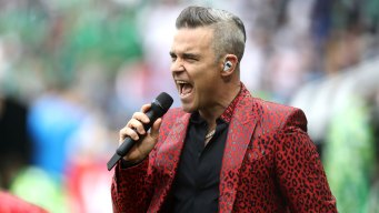 Singer Flips the Bird on Live TV During World Cup Kickoff