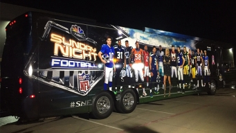 Sunday Night Football Bus Coming to Chicago