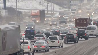 Morning Snowfall Could Spell Slippery Commute