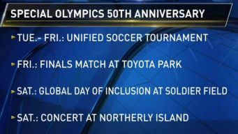 Special Olympics to Kick Off its 50th Anniversary Celebration in Chicago