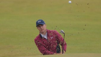 Spieth Turns in a Beauty on a Nasty Day at British Open