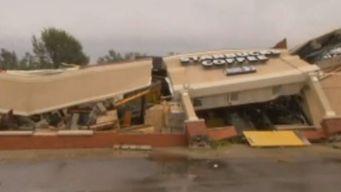 Tornado Levels Starbucks in Indiana