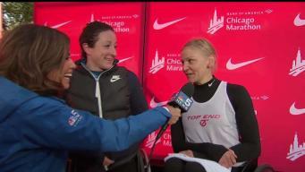 McFadden, Scaroni Talk Chicago Marathon and Team USA