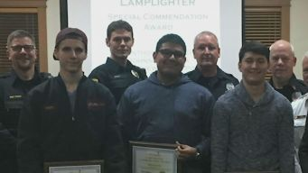 Teens Honored For Saving Child Who Fell From Overcrowded Car