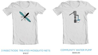 Threadless Teams with UNICEF for Charitable T-Shirts
