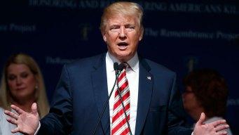 Donald Trump Campaigns in Texas, Colorado