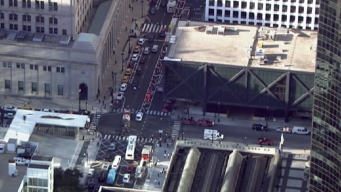 Fire Department Responds to Report of Train Fire At Union Station