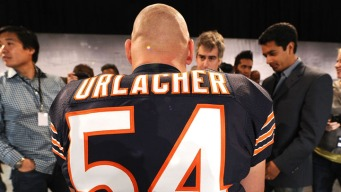 Urlacher Among Pro Football Hall of Fame Semifinalists