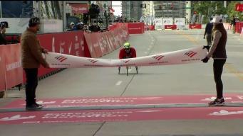 Watch Romanchuk Win Chicago Marathon Men's Wheelchair Race