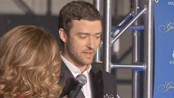 Timberlake on the Red Carpet at Ryder Cup Gala