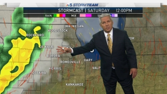 Severe Storms Threaten Chicago Area This Weekend
