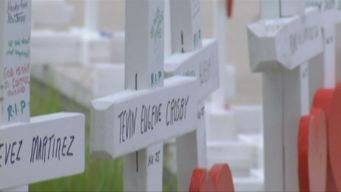 Carpenter Honored in Vegas After Making Crosses For Victims