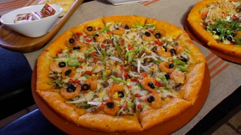 Korea's Tastiest Import Is at Mr. Pizza