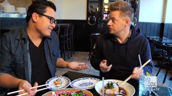 Top Chefs Richard Blais & Dale Talde Hang in Brooklyn; Talk Food, Cookbook, & Nipples?