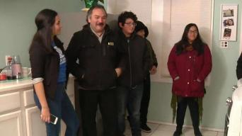 Pilsen Dad Gets Big Gift From Boys and Girls Club