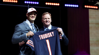 Bears' Pick Catches Everyone Off Guard, Including Trubisky
