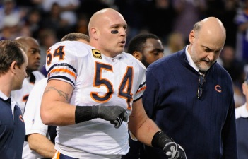 Why Does Urlacher Need to Talk About His Knee?