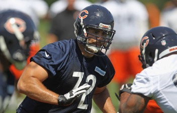 Bears Sign Andre Gurode, Carimi Stays at Guard for Now