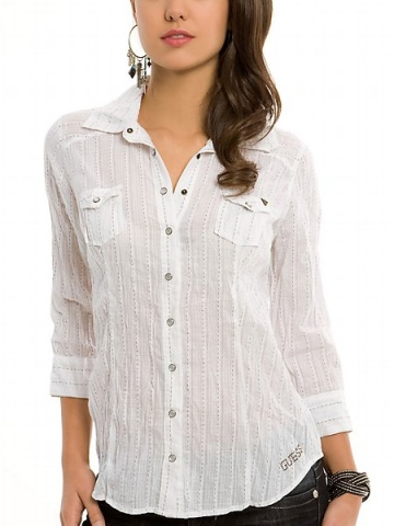 Spring Chic: Crisp Button Downs