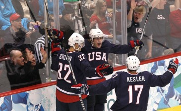 Blackhawks at the Olympics: Team USA