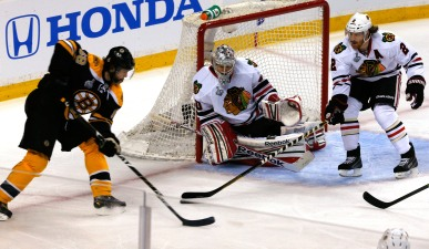 Crawford's Efforts Not Enough as Hawks Fall 2-0