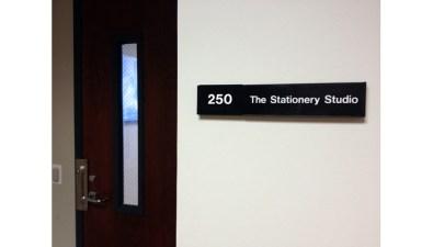 A Peek Inside: The Stationery Studio