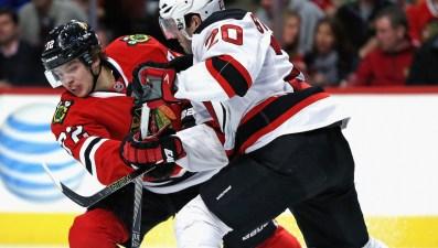 Devils Defeat Blackhawks, 3-2