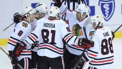 Blackhawks Win on the Road