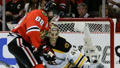 Saturday's Three Stars: Kane, Sharp On Point as Hawks Win