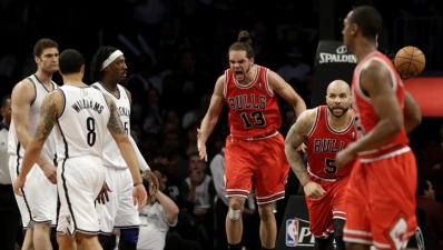 Bulls Beat Nets 99-93 in Game 7