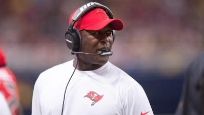 Former Bears Coach Lovie Smith Fired by Buccaneers