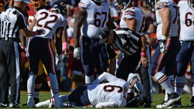 Bears Out-Slugged by Redskins 45-41 Sunday
