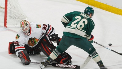 Wild Beat Blackhawks 5-4