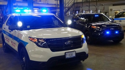 New Chicago-Made Interceptor Cop Cars Arrive