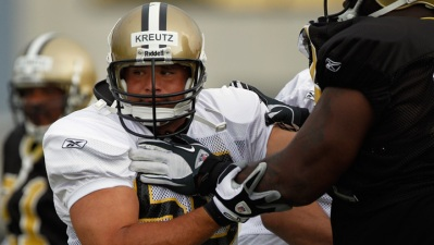 Olin Kreutz Quits Saints