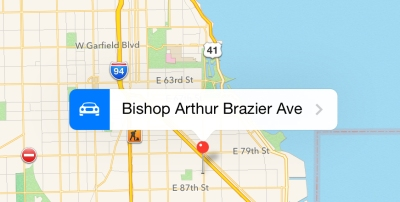 Apple Maps Abruptly Renames Stony Island Avenue