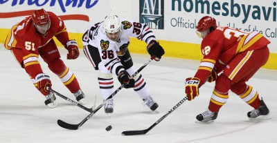 Blackhawks Lose to Flames
