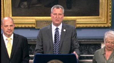 Watch Out, Rahm: NYC Mayor Wants 2016 DNC in Brooklyn