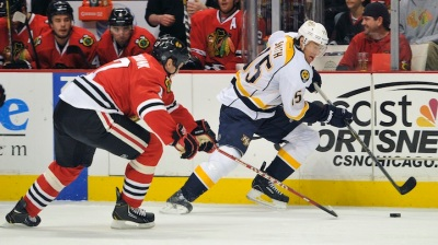 Blackhawks Beat Preds in OT