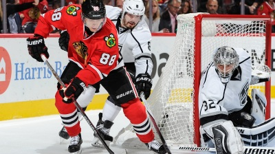 Blackhawks Score 4-2 Comeback Win Over Kings Monday
