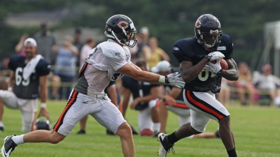Bears Face Conditioning Test at Camp