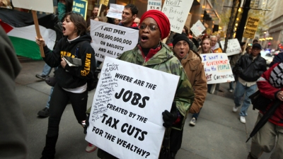 Occupy Chicago Targets Proposed CTA Cuts