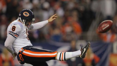 "Bears Punter Reacts to Being ""Put on Notice"""
